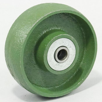 Ductile caster (standard type) for the wheels (cast iron (B ON) car)