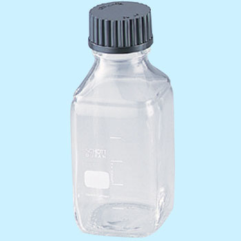 Screw mouth with bottle square type (transparent) cap