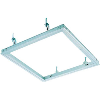Aluminum inspection port 300 square Silver