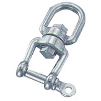 Stainless steel single shackle total length 65mm