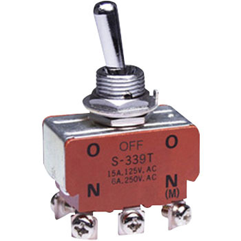 Small Toggle Switch, Basic TypeS Series