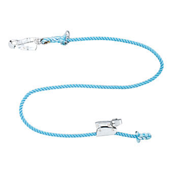 Safety Belt Lanyards, U Shaped Hook