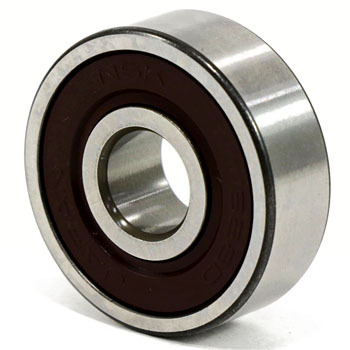 Contact Rubber Seals With Miniature Bearings In Both Sides