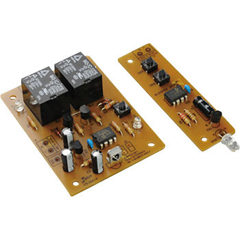 2ch relay with infrared remote control