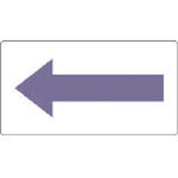 Direction indicator sticker for JIS piping