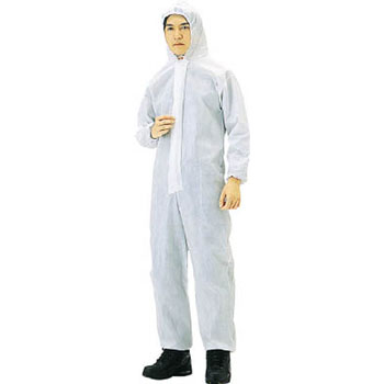Non-woven disposable protective clothing