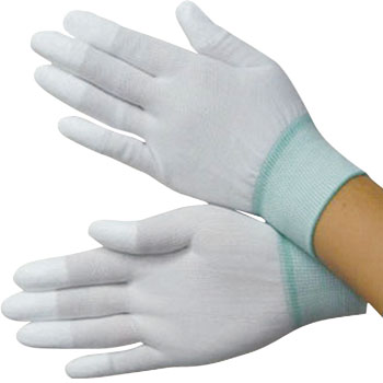 Non-slip gloves (finger coat type)
