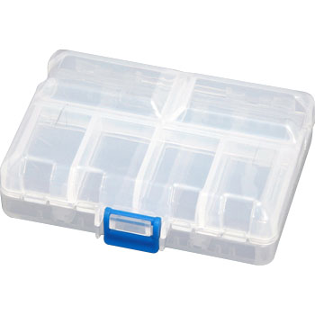 Clear pill case