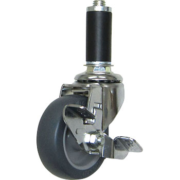 Casters for pipe systems Flexible type (with stopper)