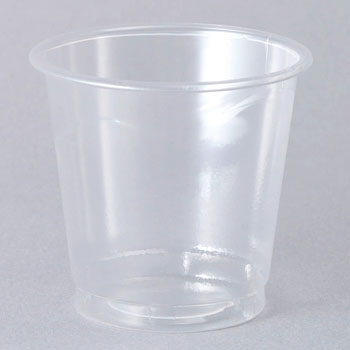 Clear cup transparent (tasting cup series) PS