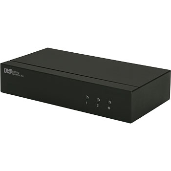 3D-capable one input and two outputs HDMI splitter