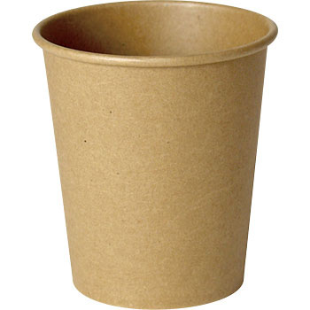 Unbleached paper cup