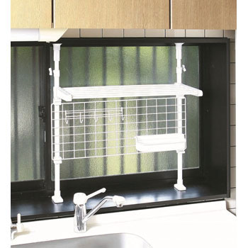Bumping kitchen function rack