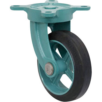Ductile castor free (MG - O) with bracket / standard type