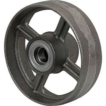 Ductile mandrel wheel D (with ductile bearings)