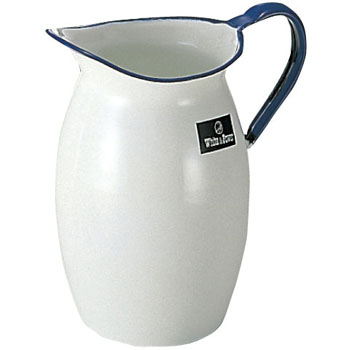 Pitcher (made of enamel) penguin type