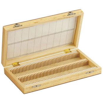 Wooden slide box (for minerals)