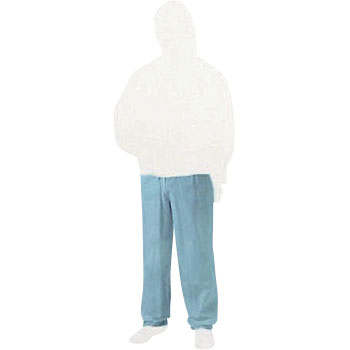 Non-woven disposable protective clothing trousers