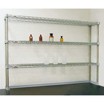 Bench shelf set
