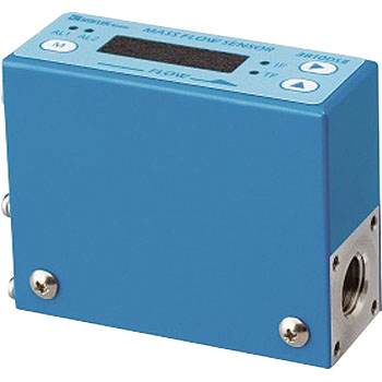 Indicator attached low cost Mass Flow Meter MODEL 3810DSII SERIES + exclusive use AC power supply
