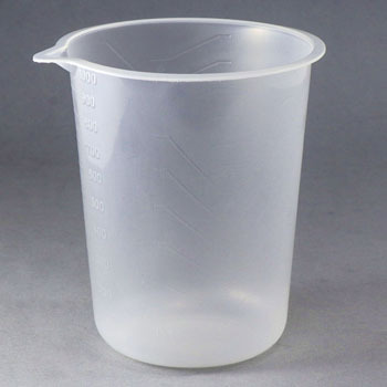 Bulldog slim cup 1000ML container (100)