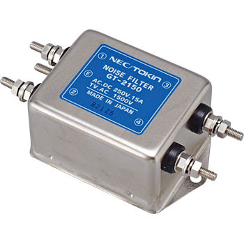 Noise filter screw terminal