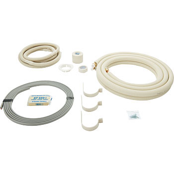 Flare piping set wire with