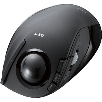 5c8ef2d1e5a Trackball mouse index finger 8 button tilt function radio ELECOM Wireless  Mouse [MonotaRO Singapore] M-DT1DRBK