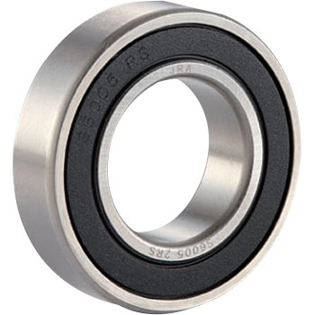 Stainless steel ball bearings 6200 series 2RS (both sides contact rubber seal type)