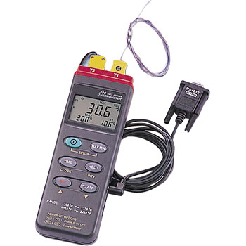 Digital Data Logger Thermometer (2 point type)