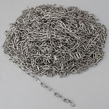 Stainless steel miscellaneous chains 30 m volume