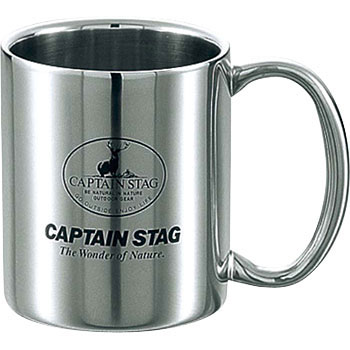 Palau double stainless steel mug cup