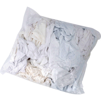 White Knitted Fabric Waste Cloth (Used Fabric)
