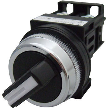 SELECTOR SWITCHES Φ 30 (2 NOTCH AND KNOB-SHAPED)