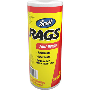 Rags White Roll