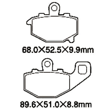 Motorcycle Brake Pad