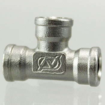 Tee Stainless Steel Screw Joint