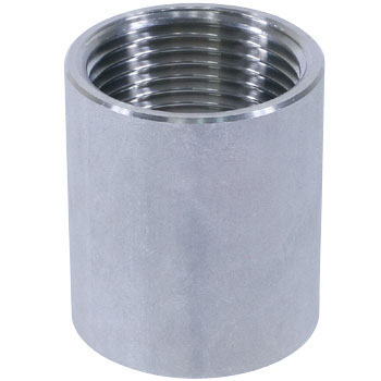 Socket, StraightStainless Steel Screw Joint