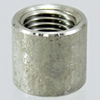 Half Socket, StraightStainless Steel Screw Joint