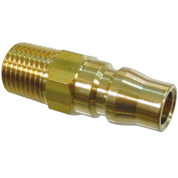 Brass Plug Coupler, For Mounting Female Screws