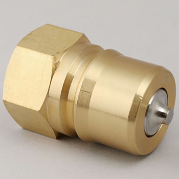 Brass Made Plug Coupler for Valve Type Medium Pressure