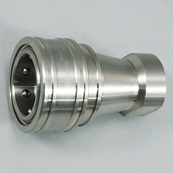 SUS Made Socket Coupler for Valve Type Medium Pressure