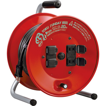 TOKU SUNDAY Outlet Cord Reel