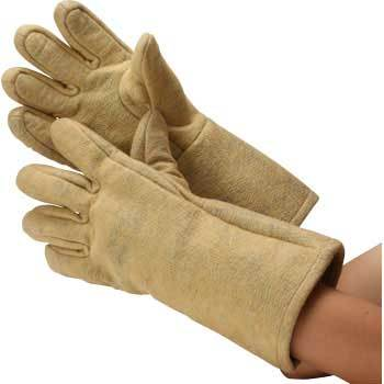 Heat Resistant Accident Prevention Gloves, Aramid Combined Felt