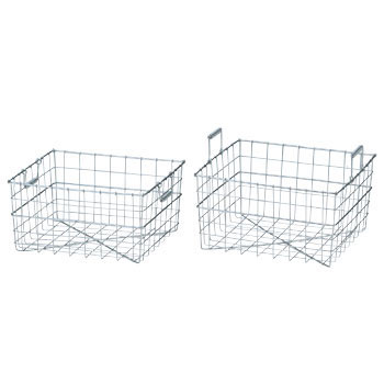 Stainless steel wire cleaning basket