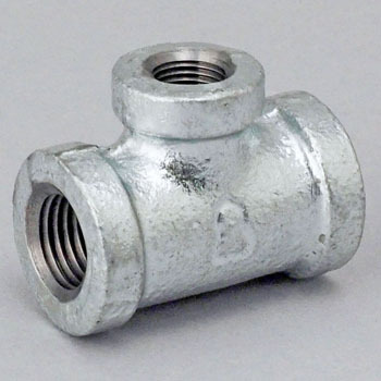 Reducing Cheese Malleable Cast Pipe Fitting White