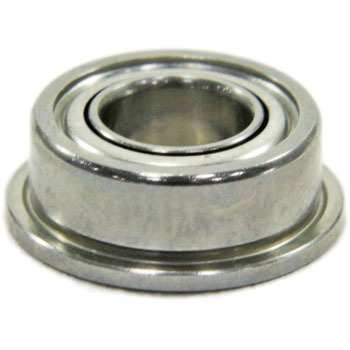 Stainless Miniature Bearings Zz Type Flange Smf