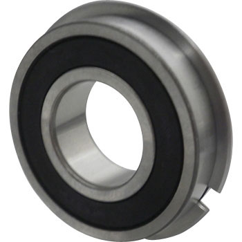 6200 Series Deep Groove Ball Bearings Retaining Ring With A Non-Contact Seal Type, Llmnr