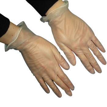 Singer Plastic Gloves No.3100 Powder Free
