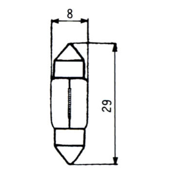 Direction Indicator Lamp, Interior Lamp 12V